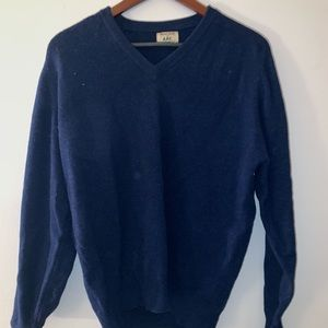 Apc new lambs wool sweater